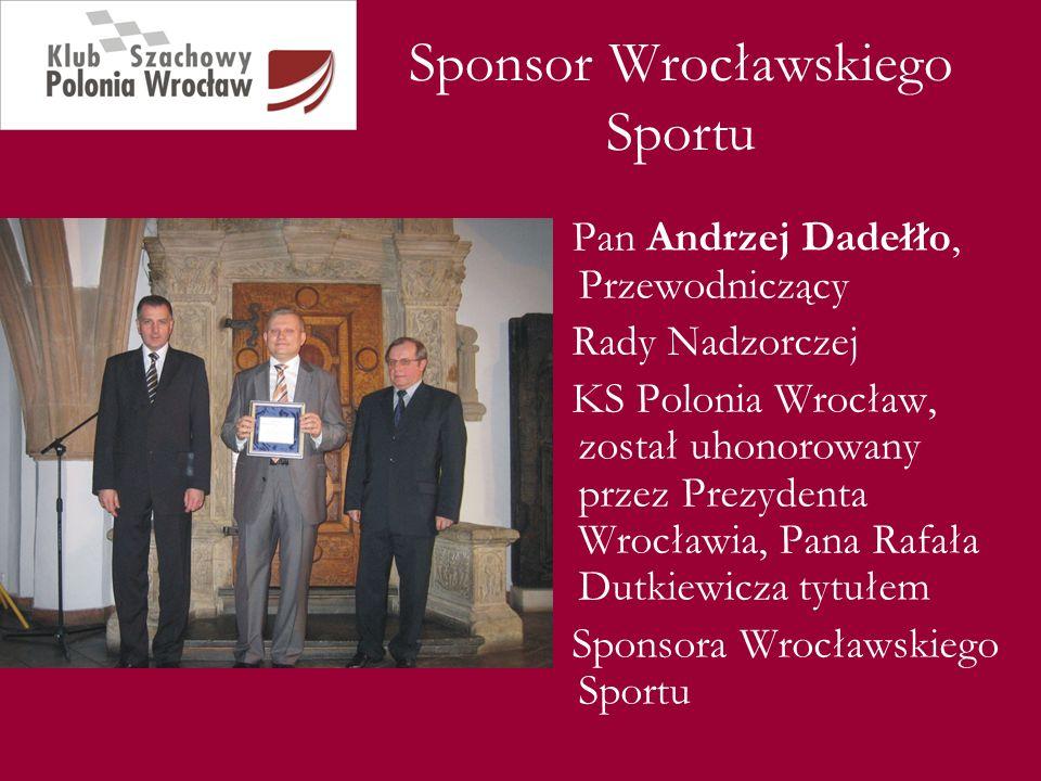Sponsor Wrocławskiego Sportu