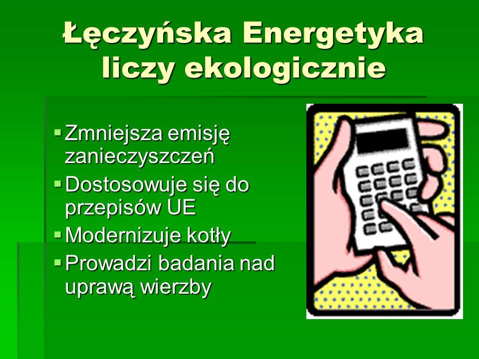 Łęczyńska Energetyka liczy ekologicznie