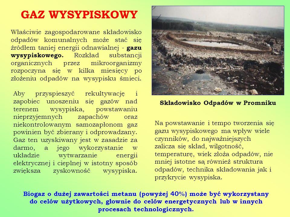 Składowisko Odpadów w Promniku