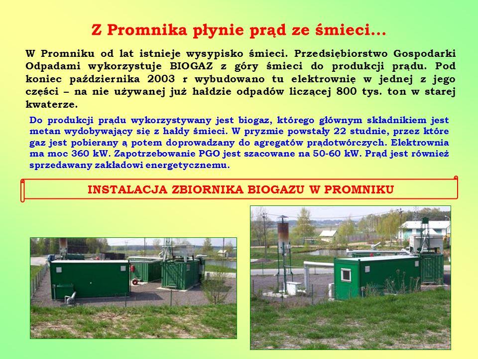 Z Promnika płynie prąd ze śmieci...