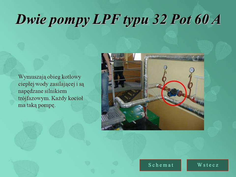 Dwie pompy LPF typu 32 Pot 60 A