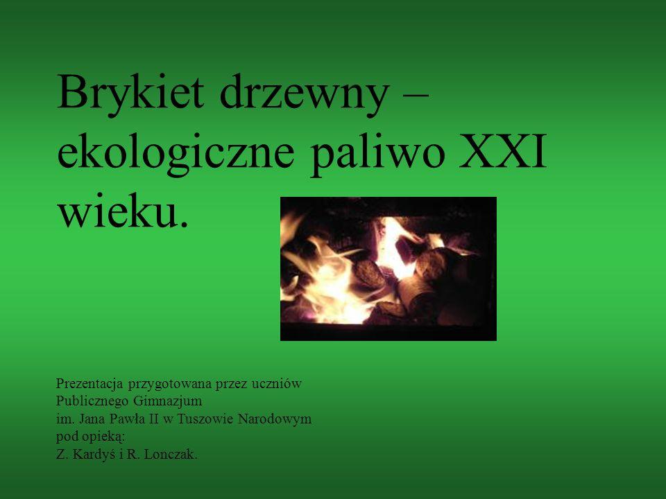 Brykiet drzewny – ekologiczne paliwo XXI wieku.