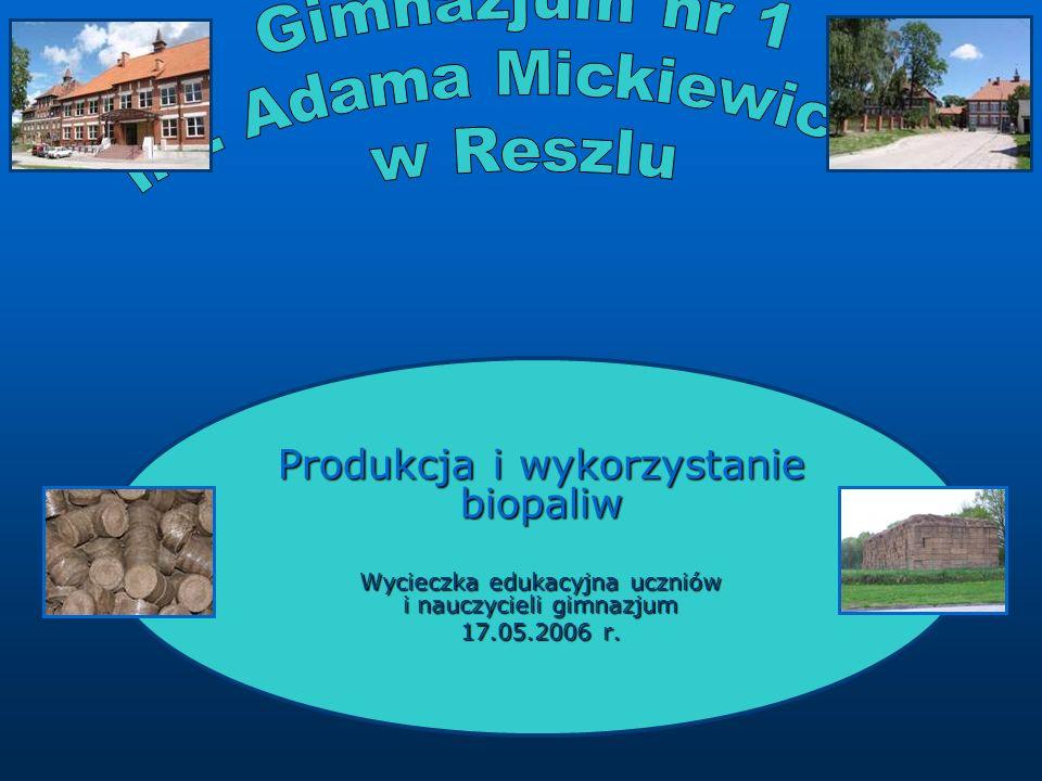 Gimnazjum nr 1 im. Adama Mickiewicza w Reszlu