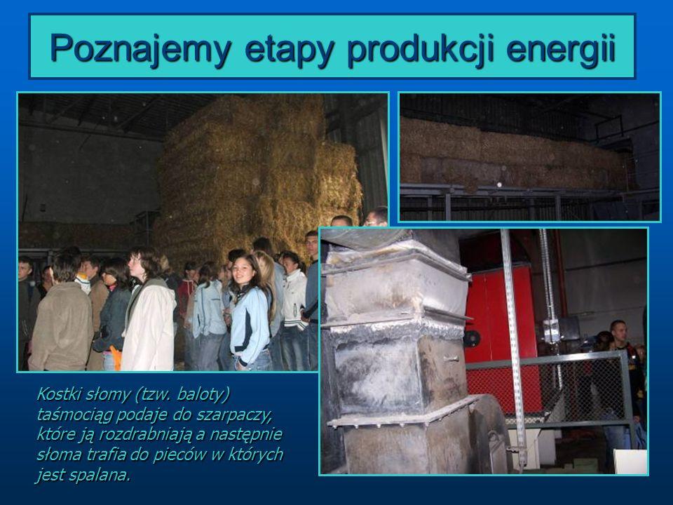 Poznajemy etapy produkcji energii