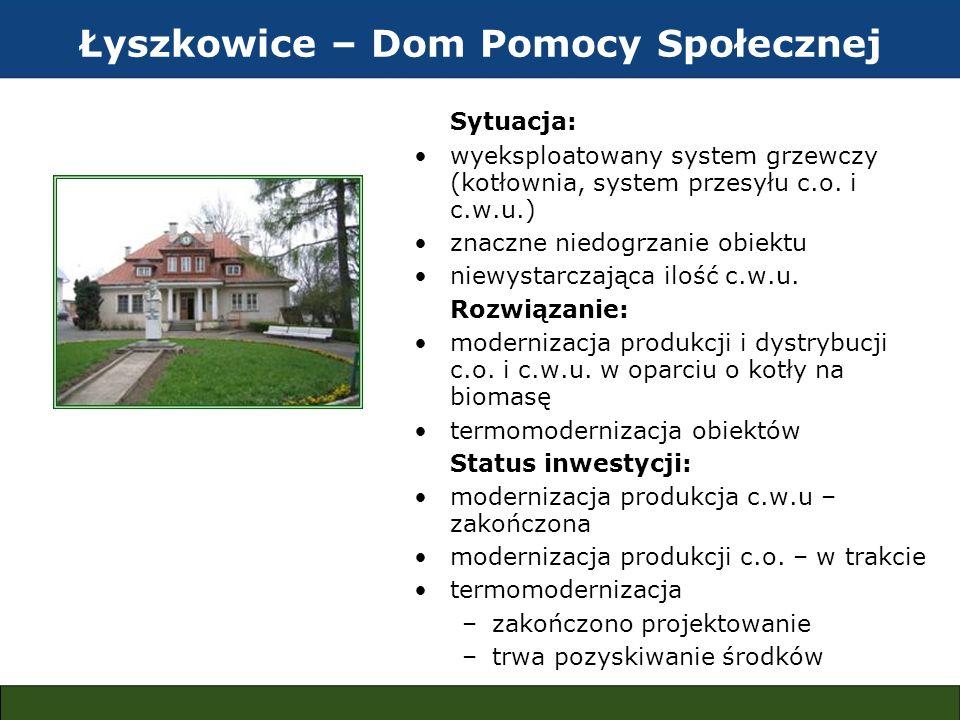 Łyszkowice – Dom Pomocy Społecznej