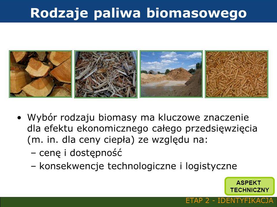 Rodzaje paliwa biomasowego