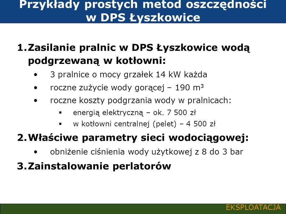 Przykłady prostych metod oszczędności w DPS Łyszkowice