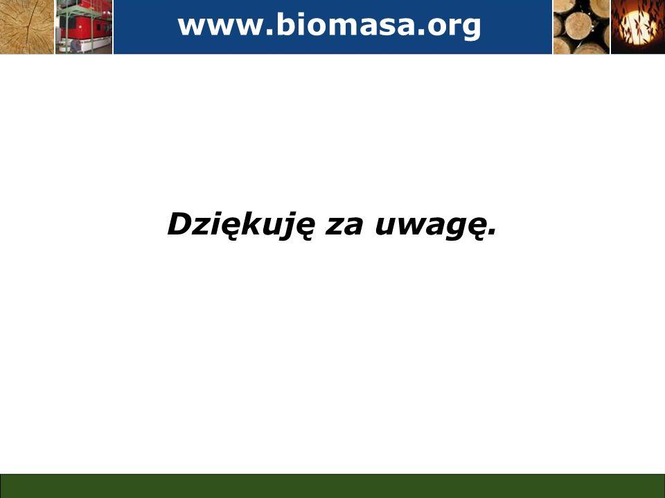 www.biomasa.org Dziękuję za uwagę.