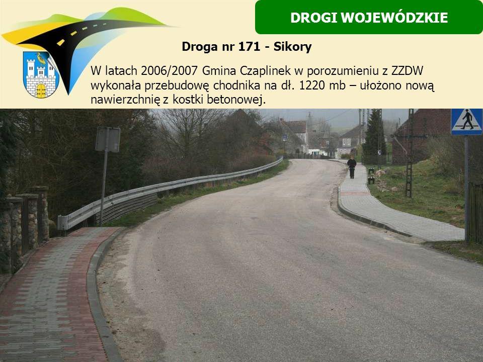 DROGI WOJEWÓDZKIE Droga nr 171 - Sikory