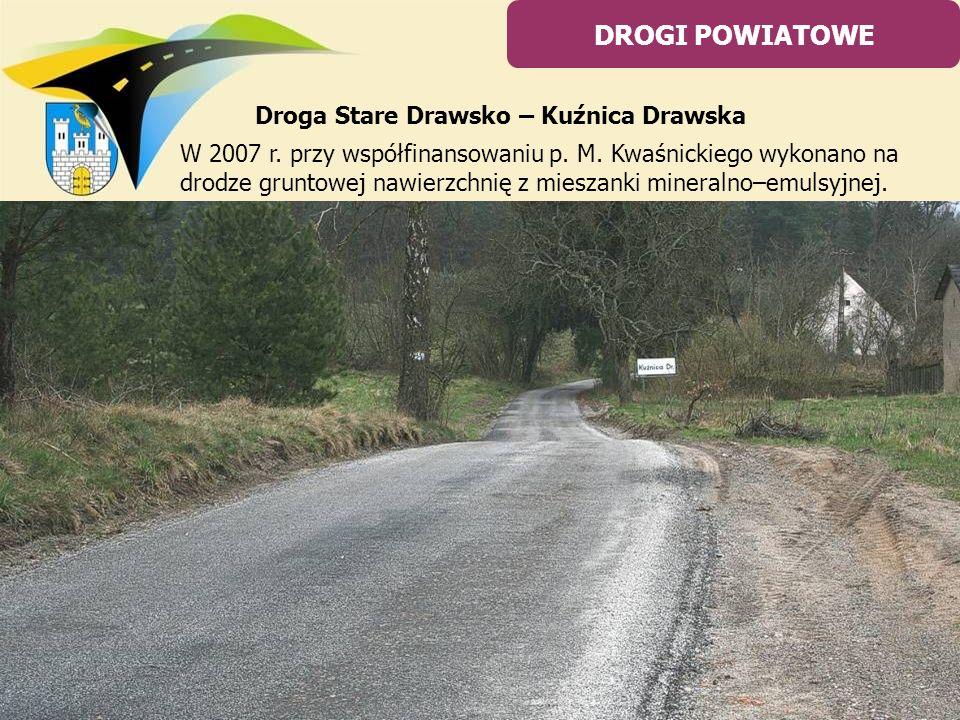 Droga Stare Drawsko – Kuźnica Drawska