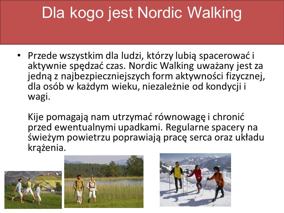 Dla kogo jest Nordic Walking