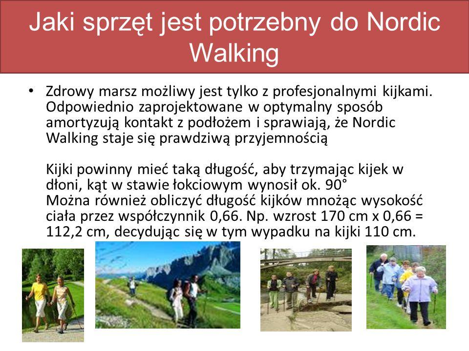 Jaki sprzęt jest potrzebny do Nordic Walking