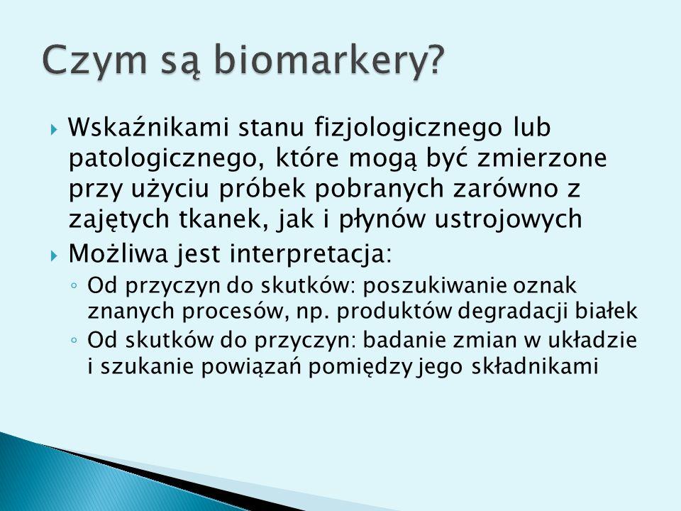 Czym są biomarkery