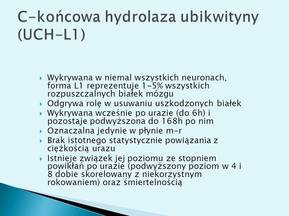 C-końcowa hydrolaza ubikwityny (UCH-L1)