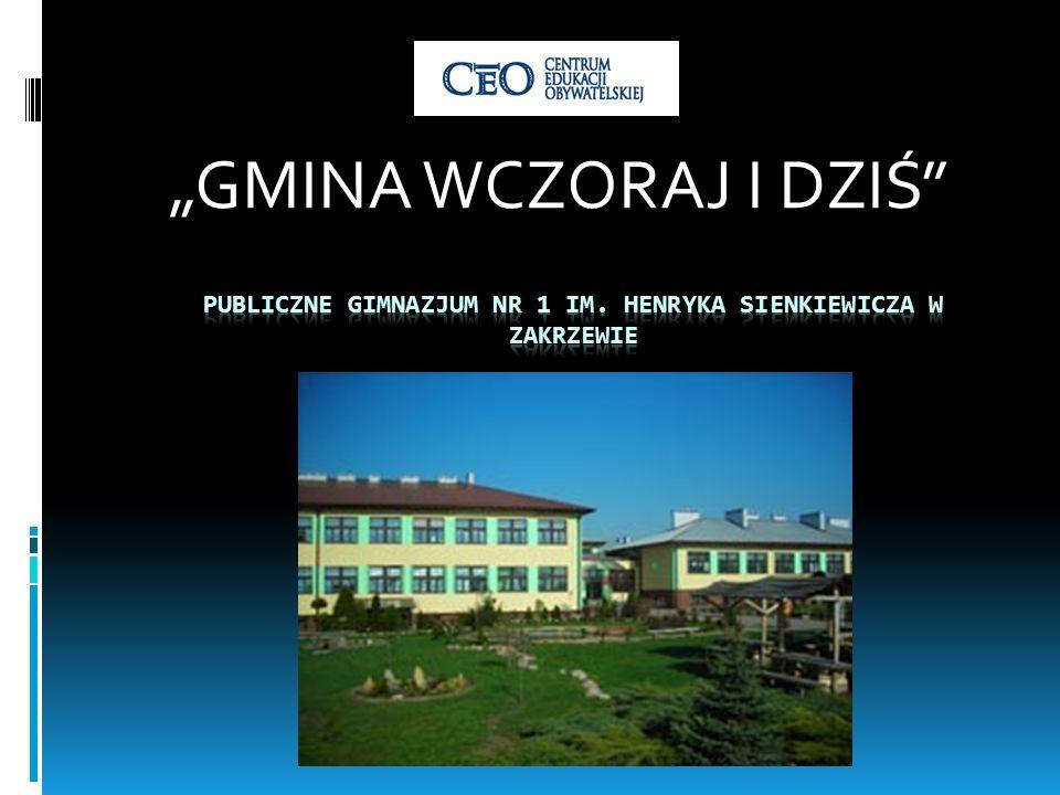 Publiczne gimnazjum nr 1 im. Henryka Sienkiewicza w Zakrzewie