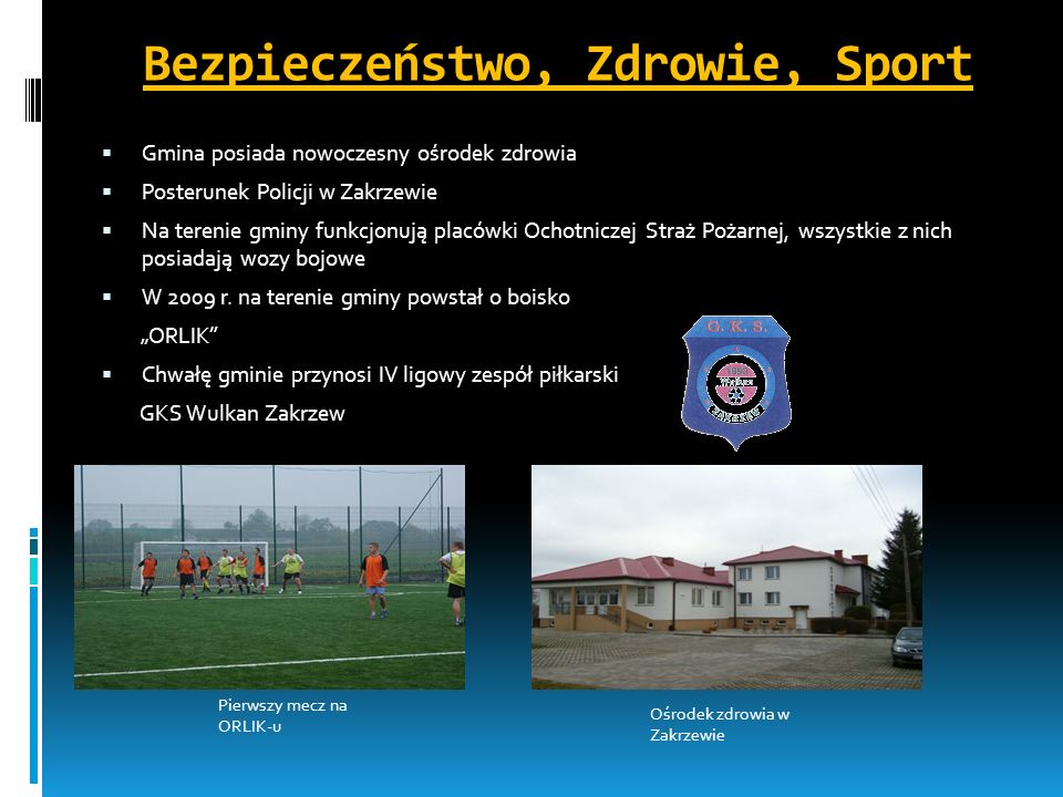Bezpieczeństwo, Zdrowie, Sport