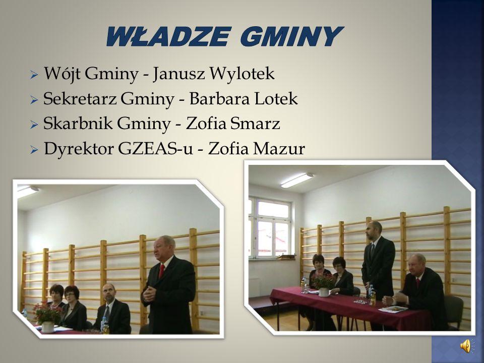 Władze gminy Wójt Gminy - Janusz Wylotek