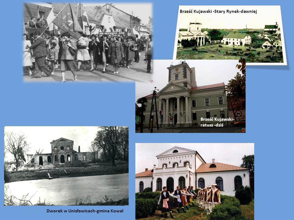 Brześć Kujawski -Stary Rynek-dawniej