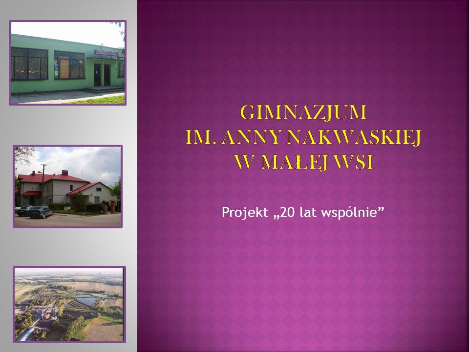 Gimnazjum im. Anny nakwaskiej w małej wsi