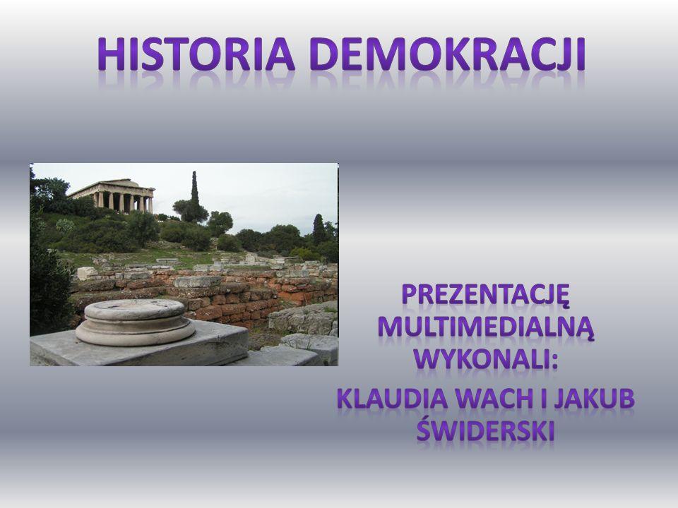 Prezentację multimedialną wykonali: Klaudia Wach i Jakub Świderski