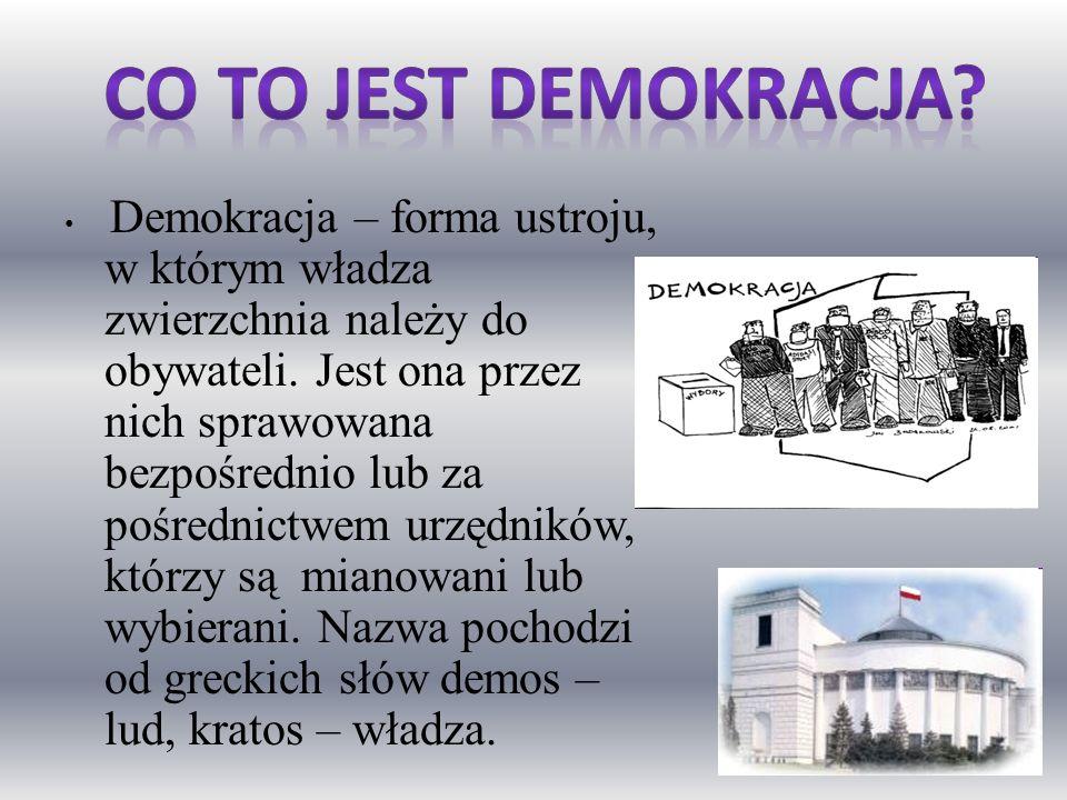 Co to jest demokracja