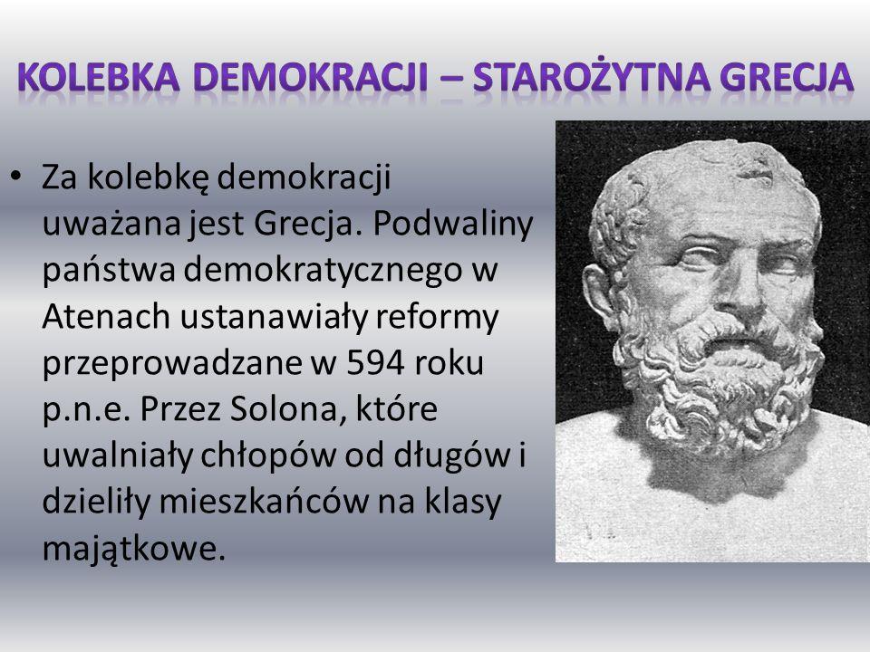 Kolebka demokracji – starożytna Grecja