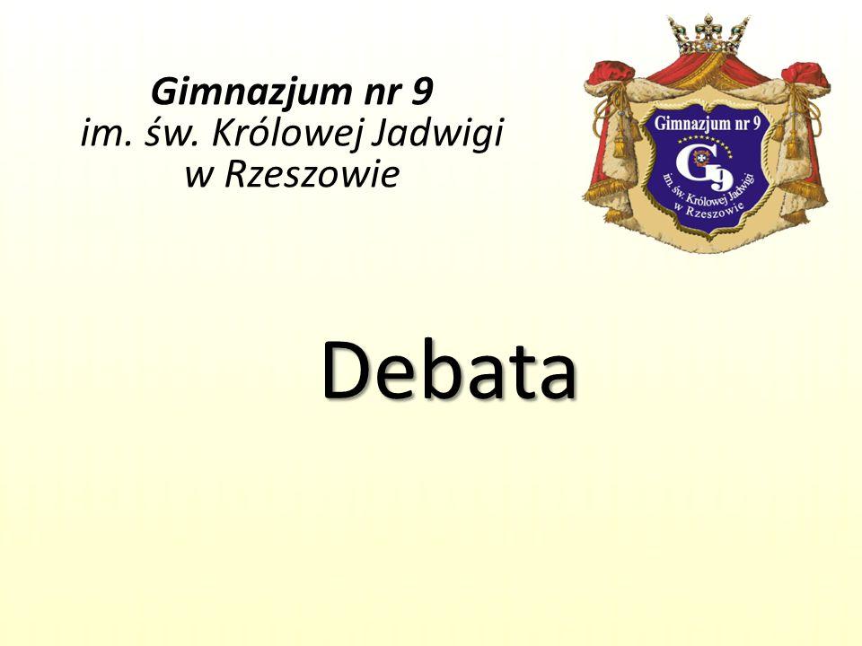 Gimnazjum nr 9 im. św. Królowej Jadwigi w Rzeszowie
