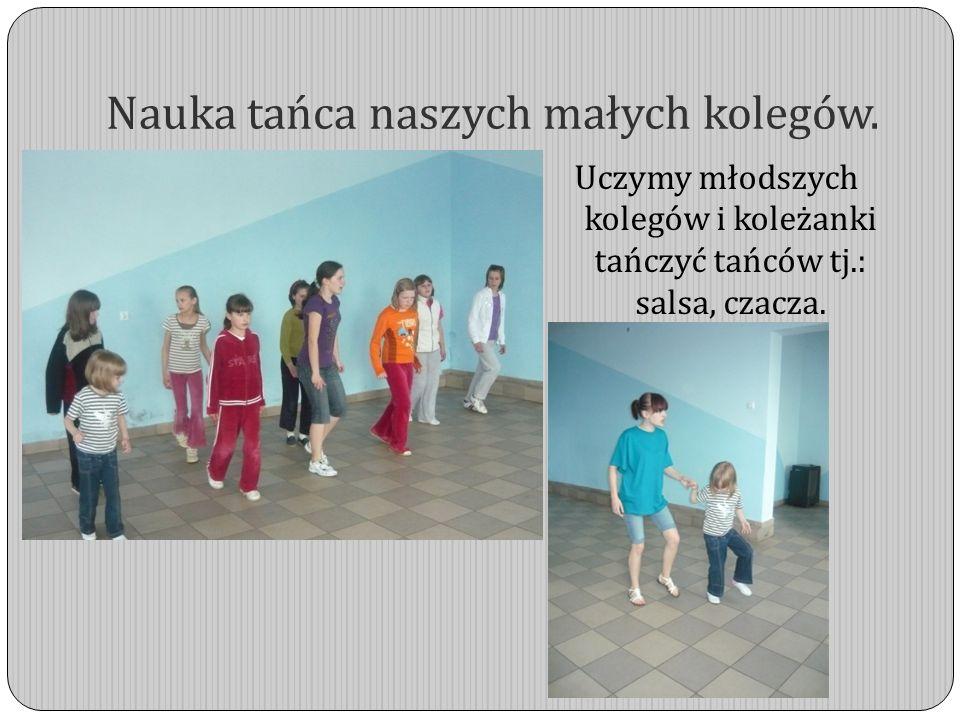 Nauka tańca naszych małych kolegów.