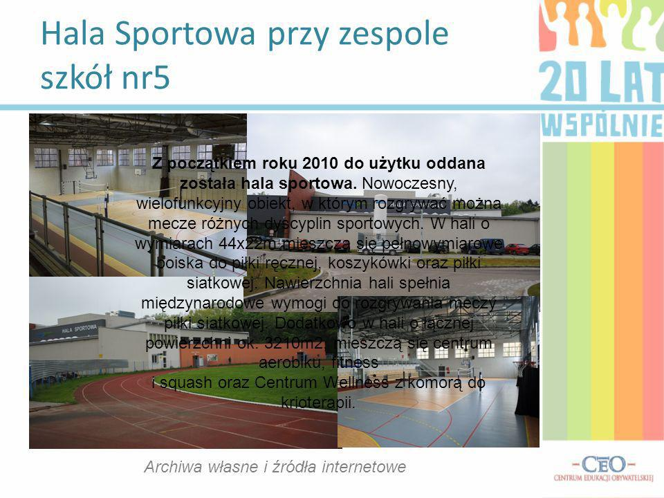 Hala Sportowa przy zespole szkół nr5
