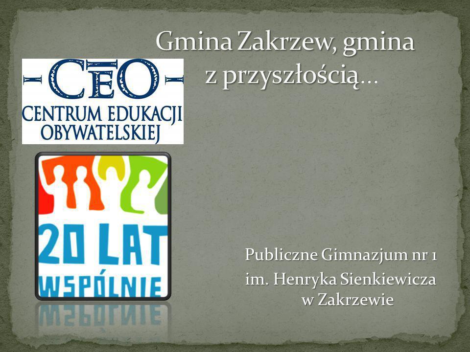 Gmina Zakrzew, gmina z przyszłością…