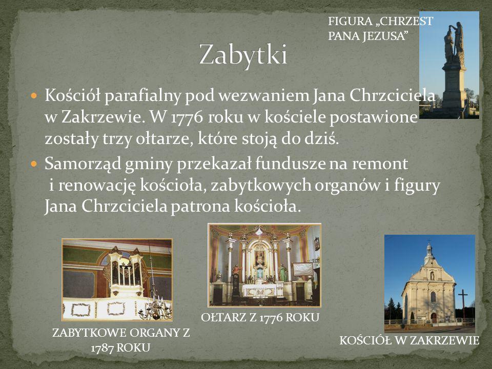 ZABYTKOWE ORGANY Z 1787 ROKU