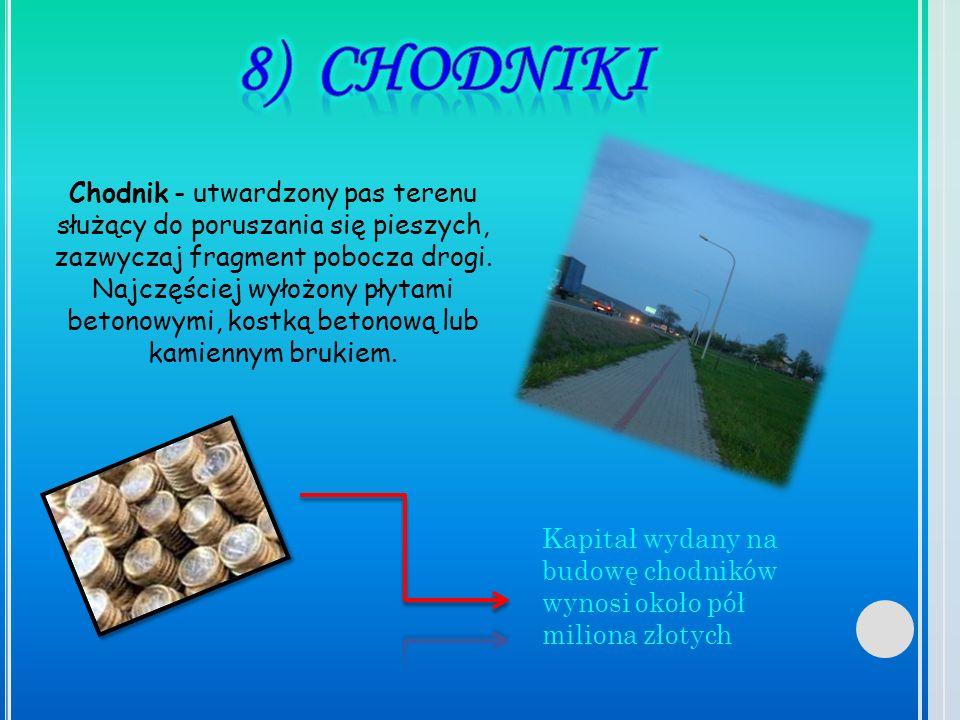 8) CHODNIKI