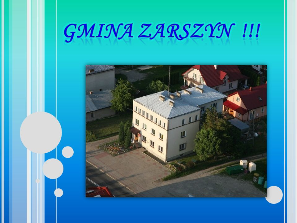 GMINA ZARSZYN !!!