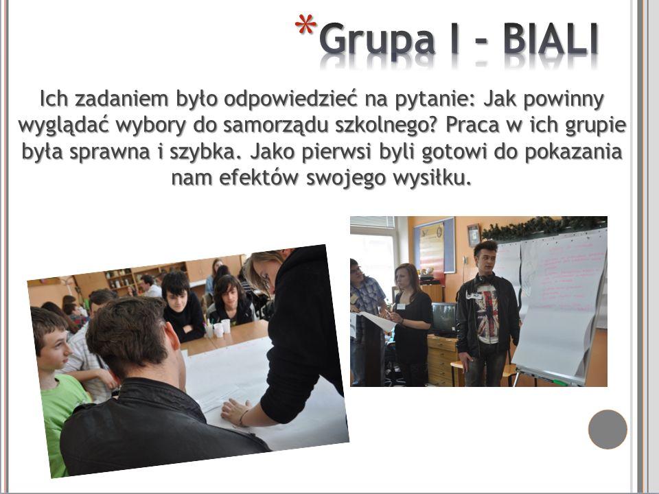 Grupa I - BIALI