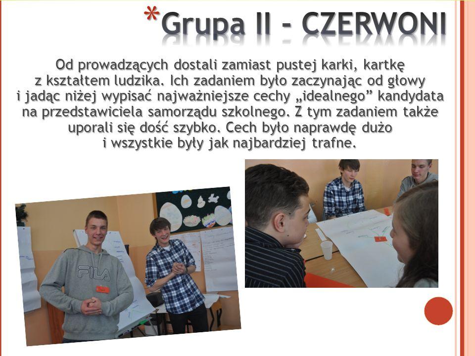 Grupa II - CZERWONI