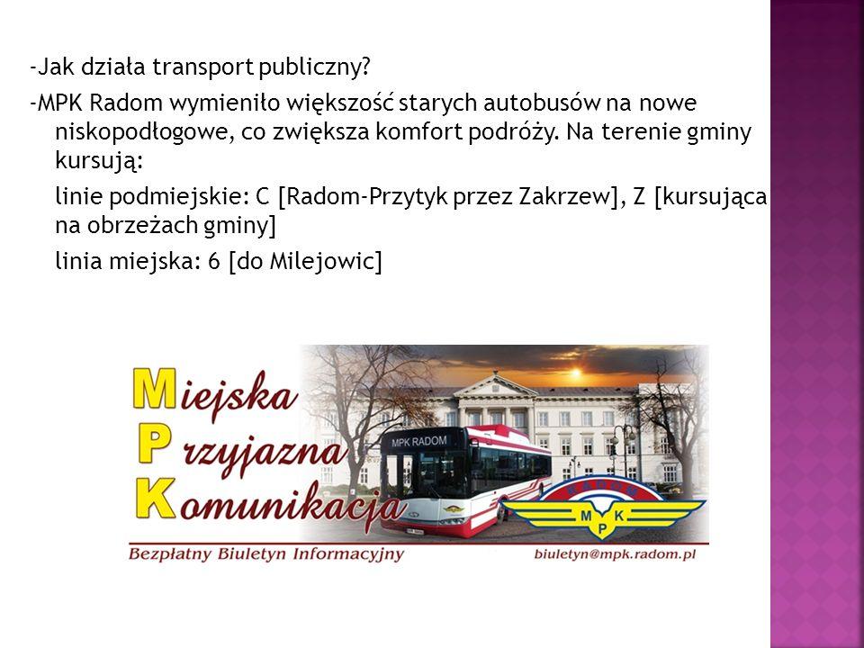 -Jak działa transport publiczny