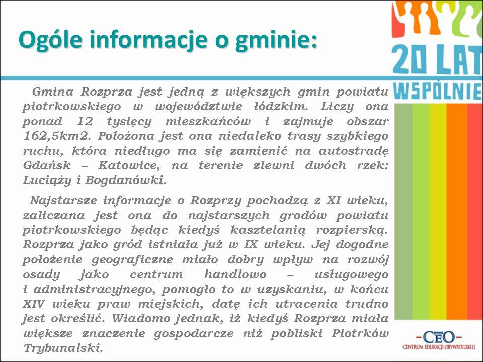 Ogóle informacje o gminie: