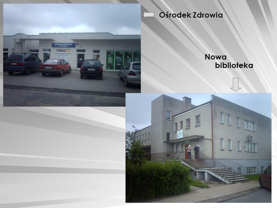 Ośrodek Zdrowia Nowa biblioteka