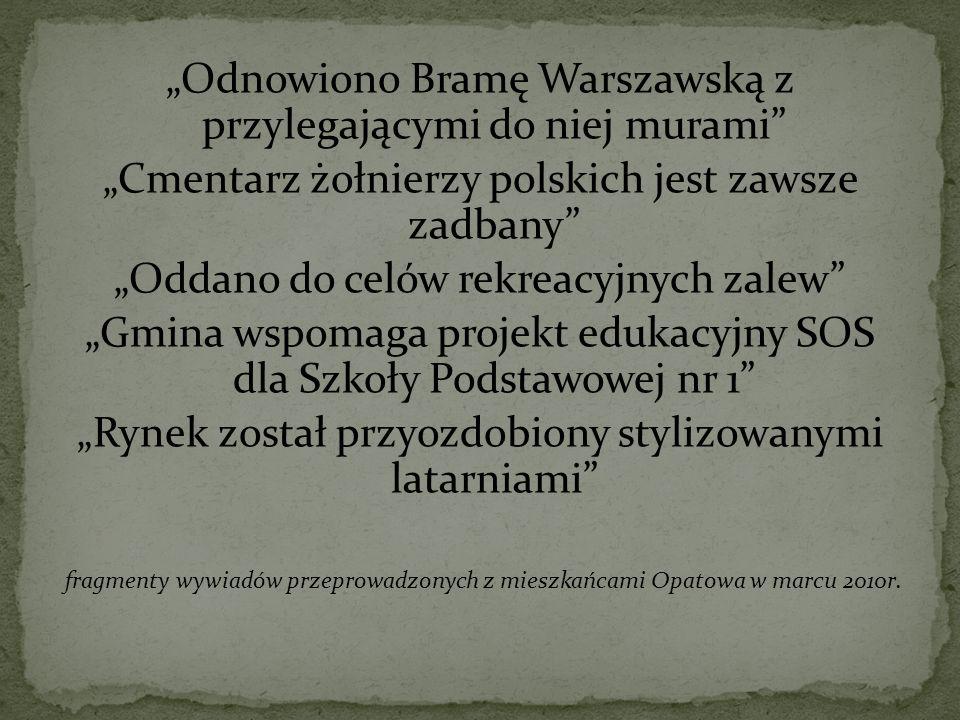 """""""Odnowiono Bramę Warszawską z przylegającymi do niej murami"""