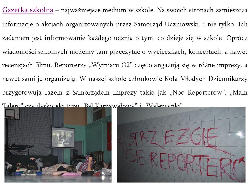 Gazetka szkolna – najważniejsze medium w szkole