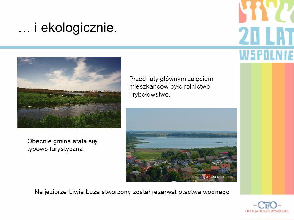 Na jeziorze Liwia Łuża stworzony został rezerwat ptactwa wodnego