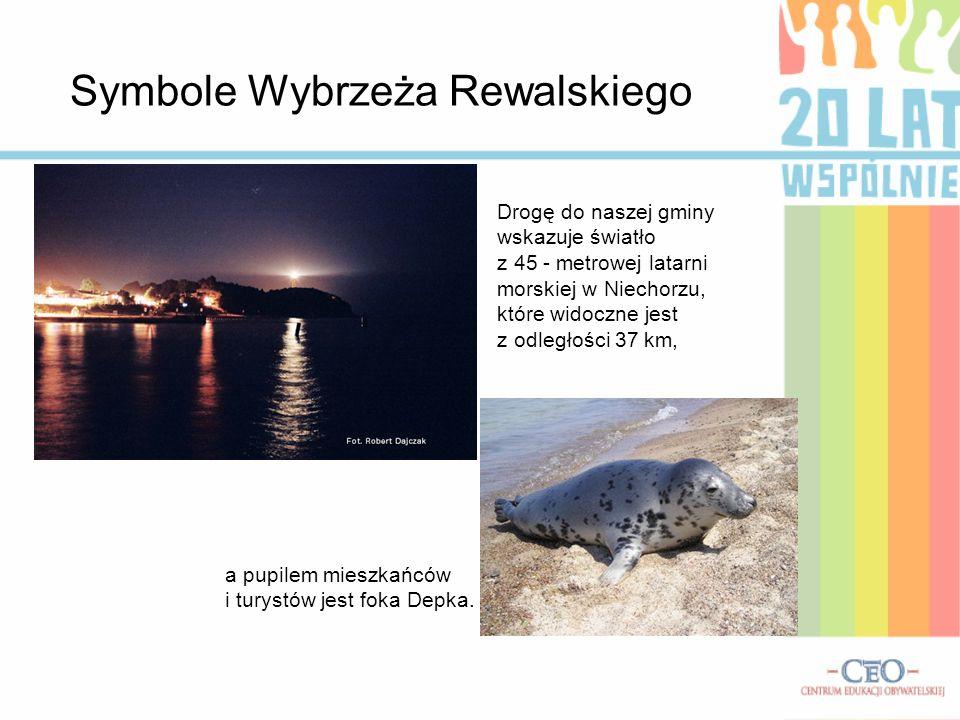 Symbole Wybrzeża Rewalskiego
