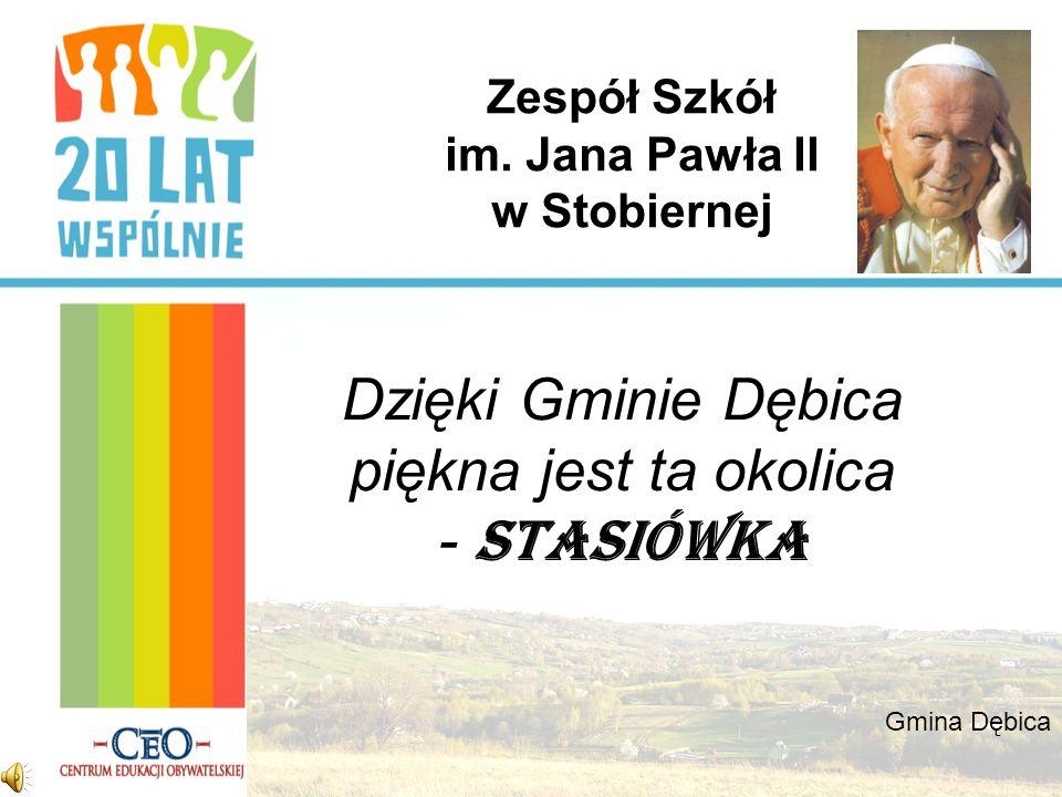 Zespół Szkół im. Jana Pawła II w Stobiernej