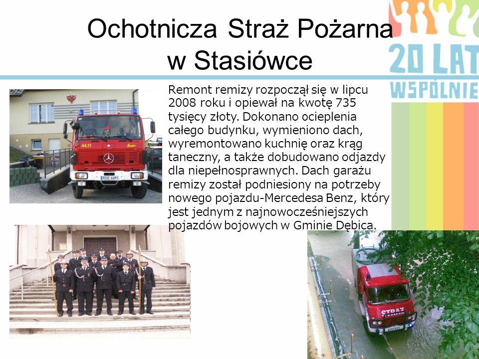 Ochotnicza Straż Pożarna w Stasiówce