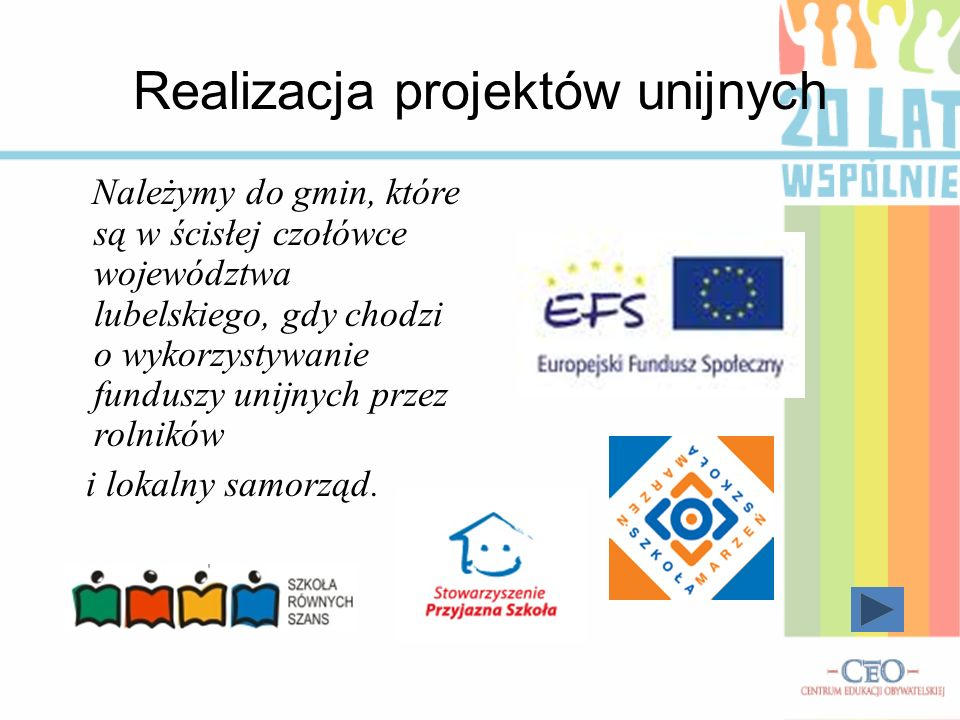 Realizacja projektów unijnych