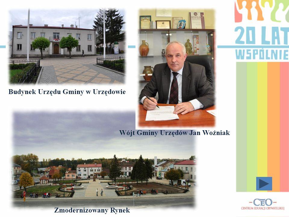 Wójt Gminy Urzędów Jan Woźniak