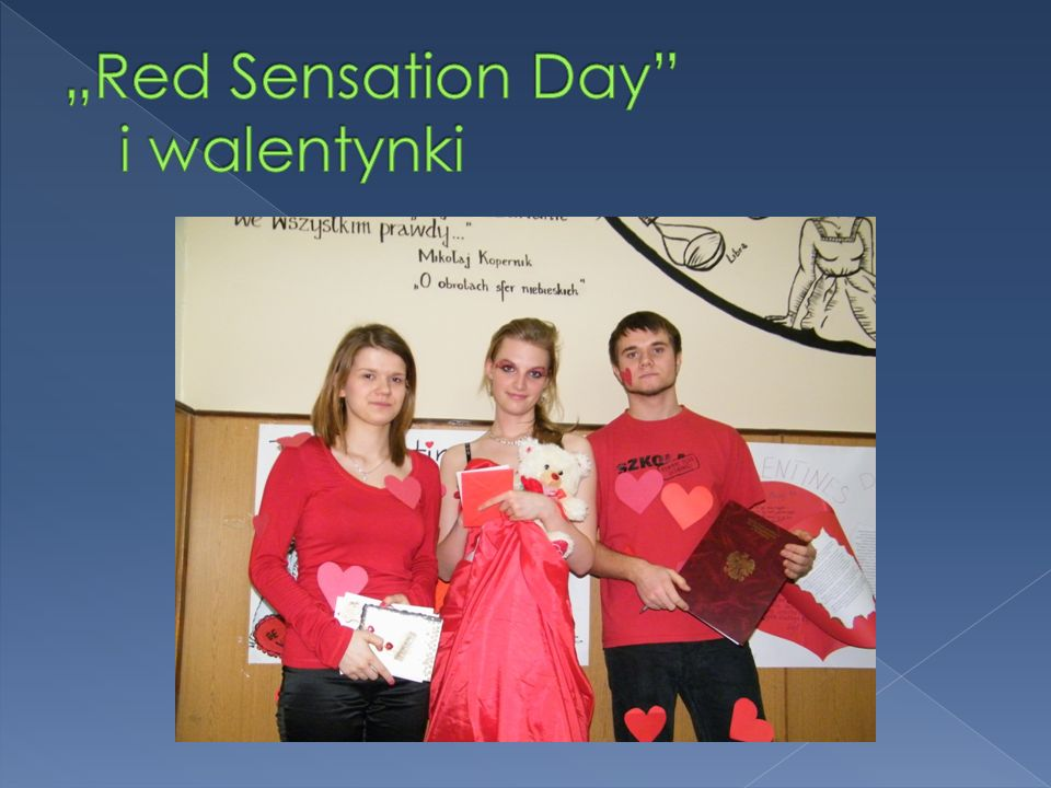 """Red Sensation Day i walentynki"