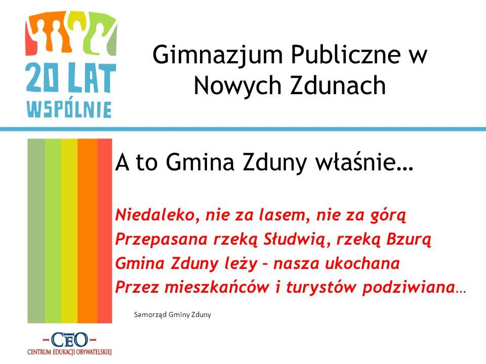 Gimnazjum Publiczne w Nowych Zdunach