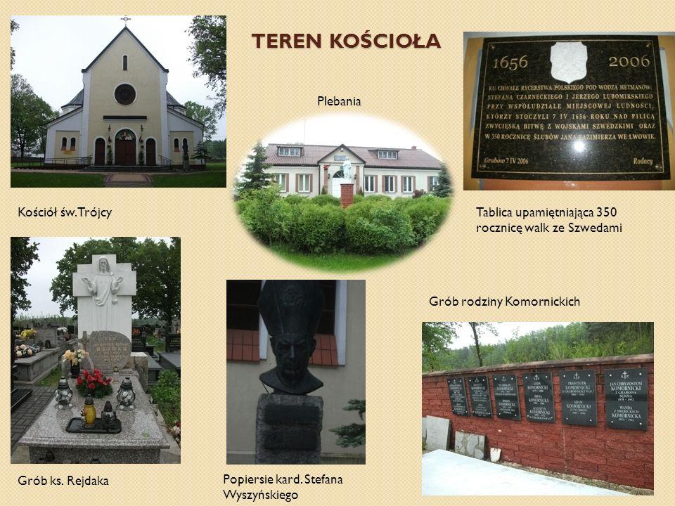 TEREN KOŚCIOŁA Plebania Kościół św. Trójcy