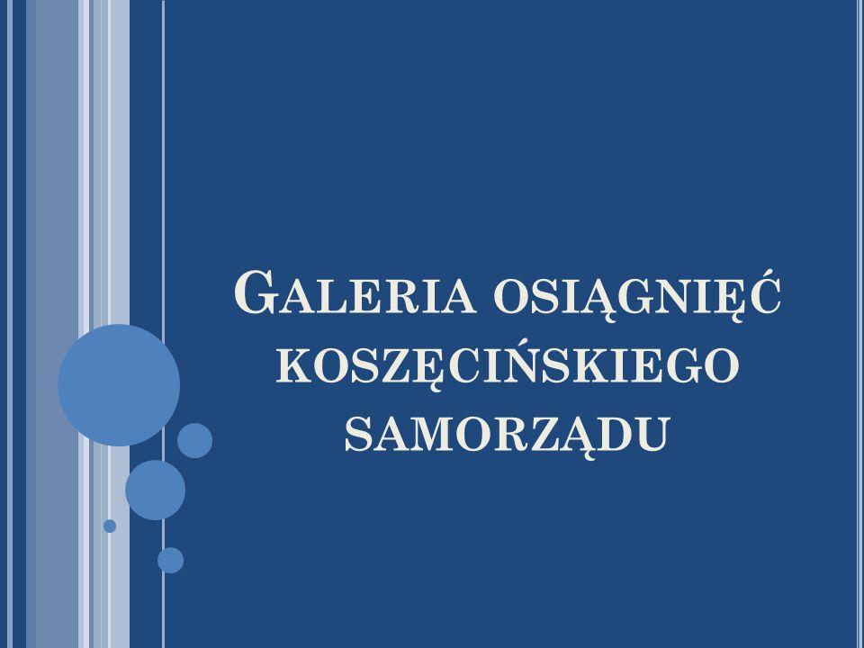 Galeria osiągnięć koszęcińskiego samorządu